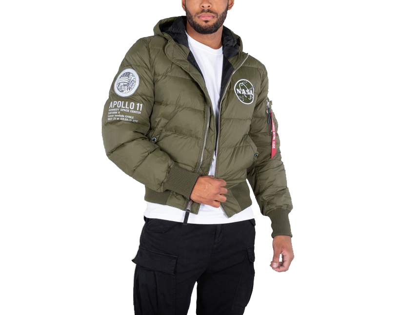 Alpha Industries Hooded Puffer Apollo 11 188142 257 - Glami.hu 1f004aa329