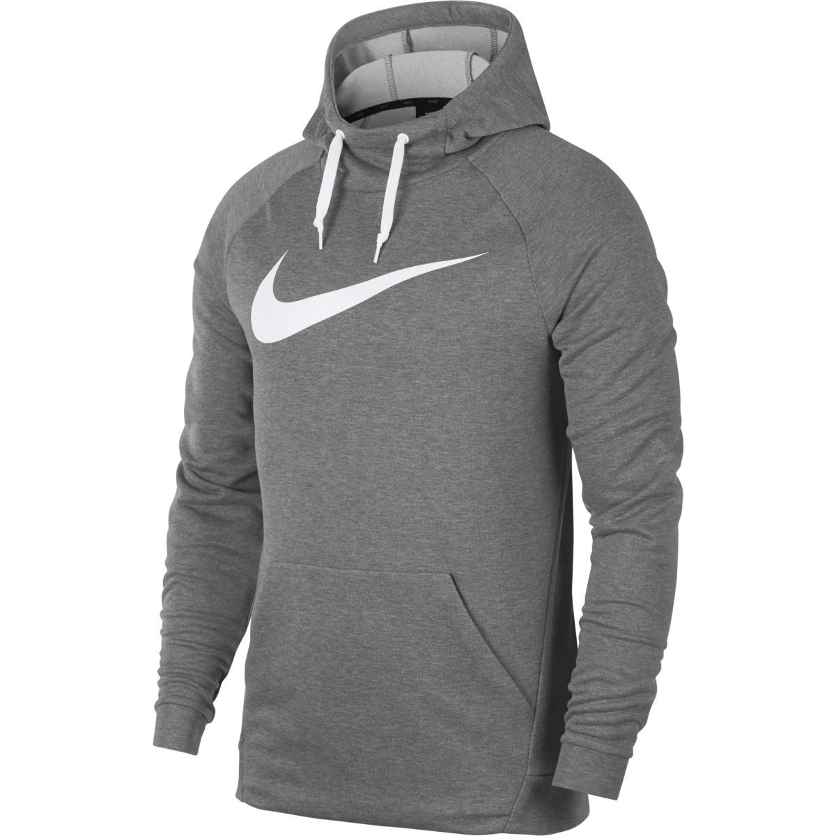 a25fcfe77b80 ... M Nk Dry Hoodie Po Swoosh šedá S. -19%. Nike ...
