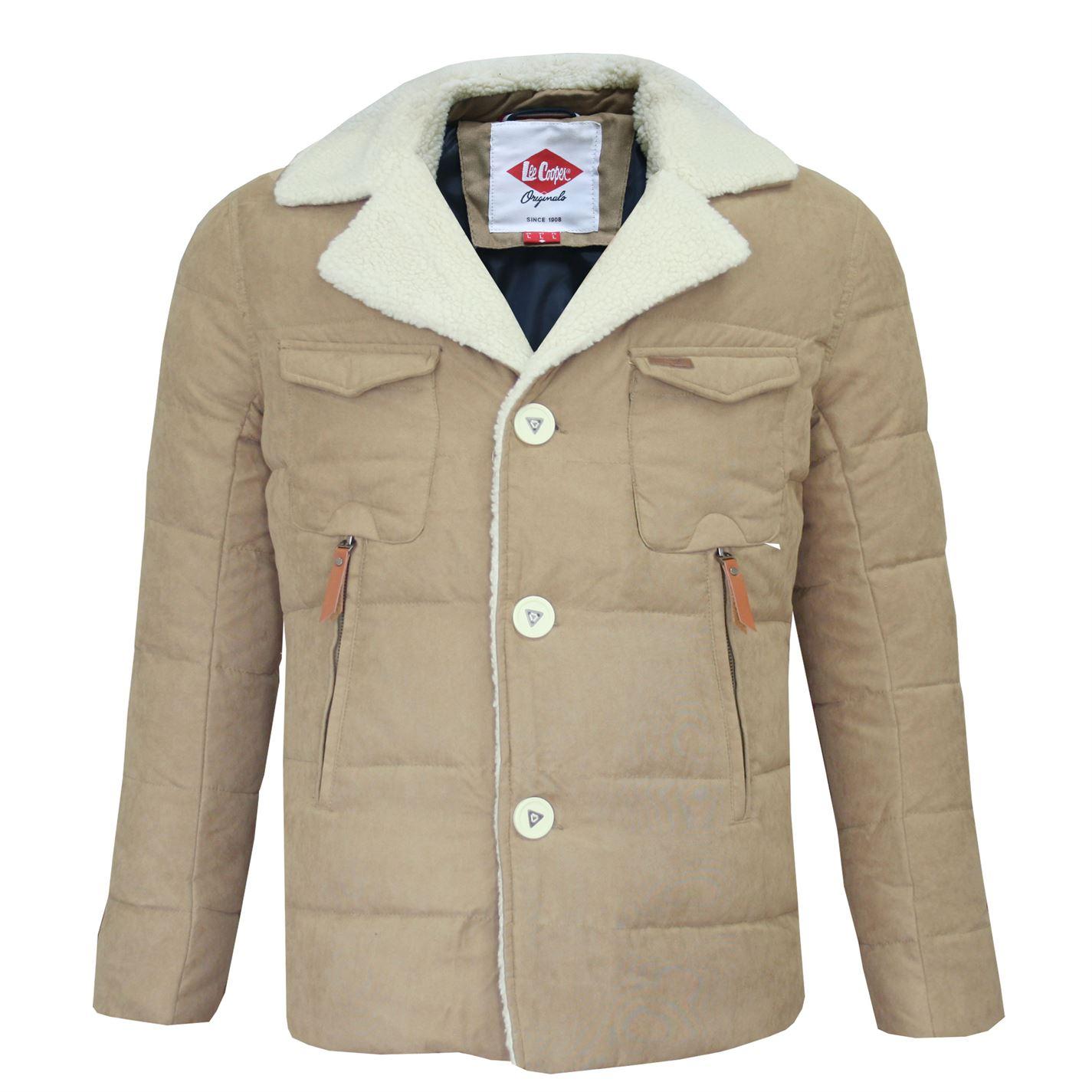 ... Lee Cooper Sherpa Collar Pánská bunda. -10% -76% ccf79aebac