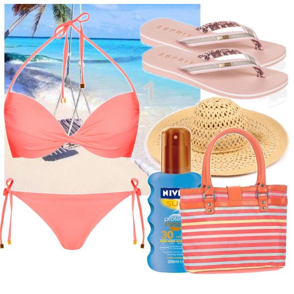 Jemný set na pláž :))