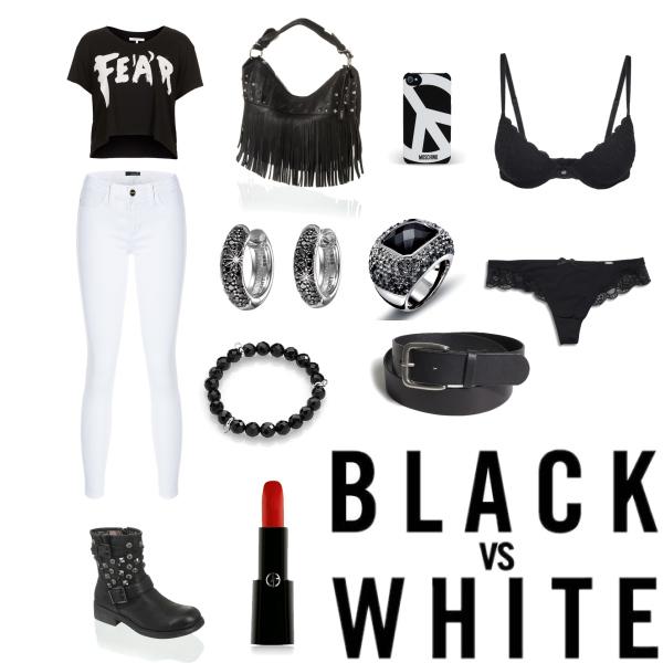 black vs white