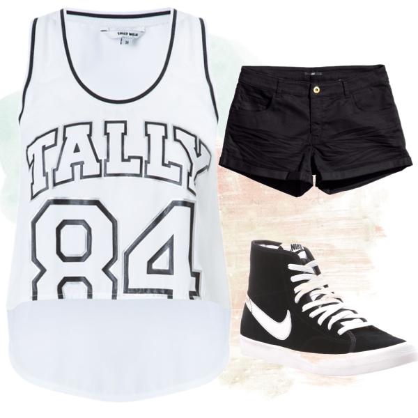 sportovní styl