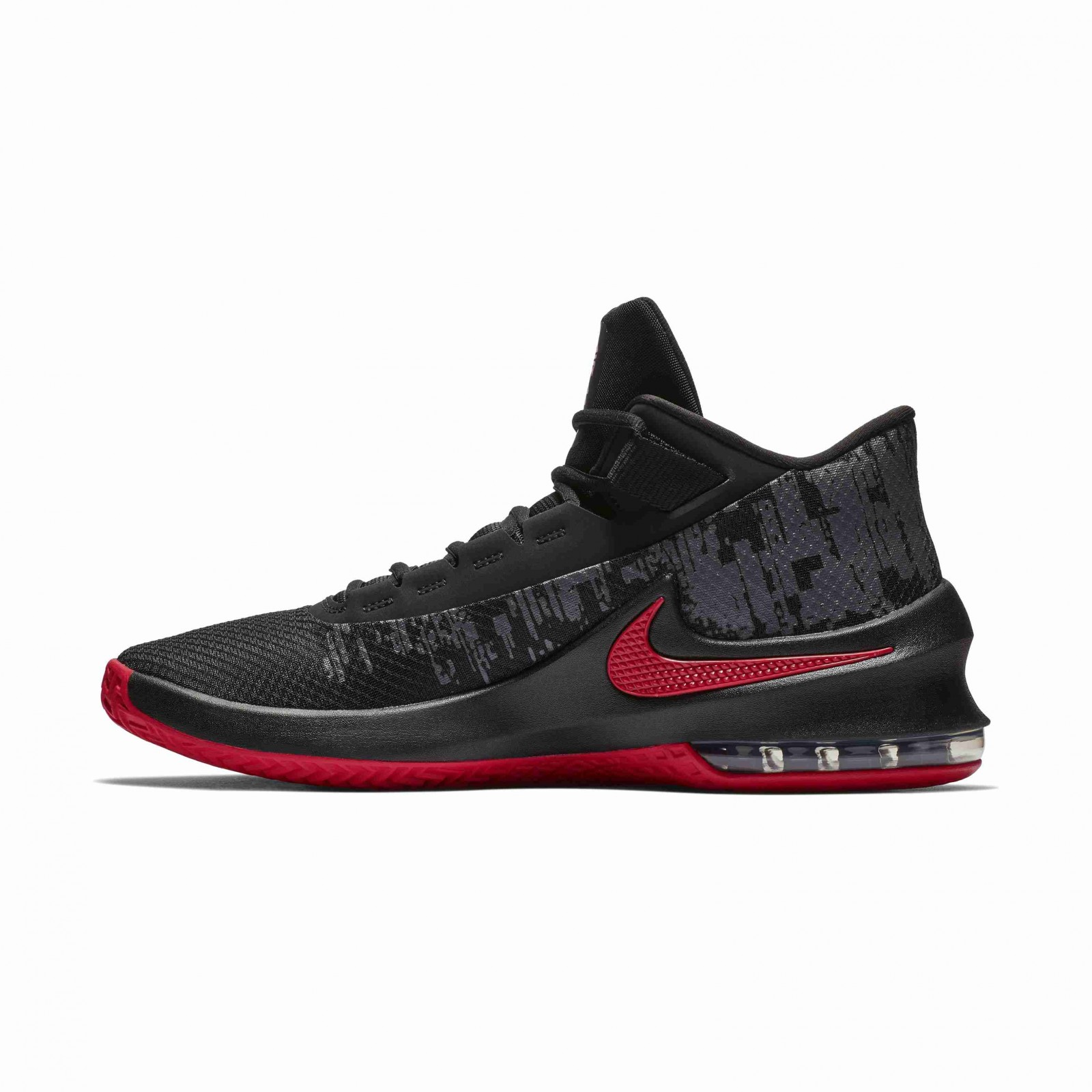 Nike Air max infuriate 2 mid BLACK UNIVERSITY RED-ANTHRACITE - Glami.sk a9588600aac