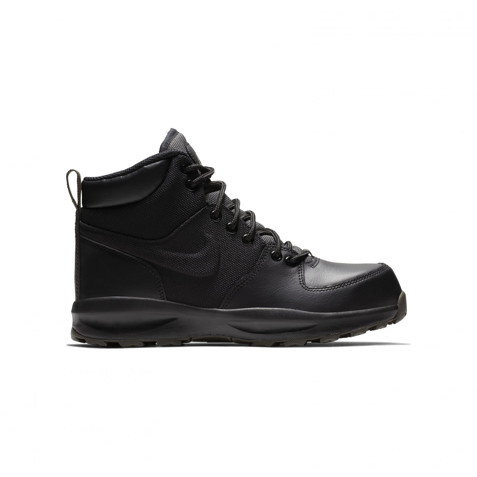 Nike manoa (gs) BLACK BLACK-NEWSPRINT - Glami.cz 6550170fa1