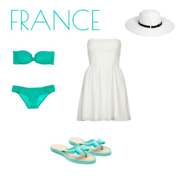Francie a honem na pláž!