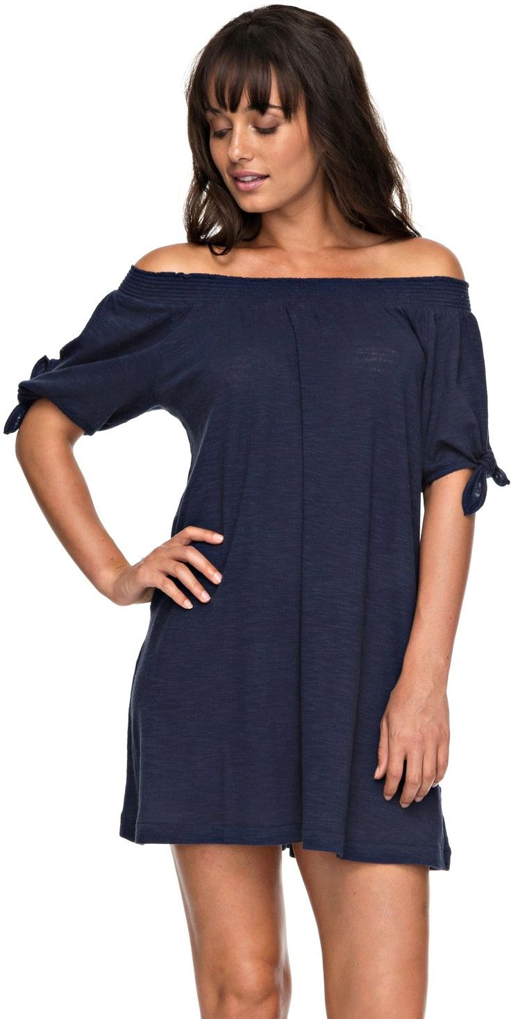 7754f2ae2 roxy Dámské šaty bright blue sky dress blues - btk0 XS - Glami.cz