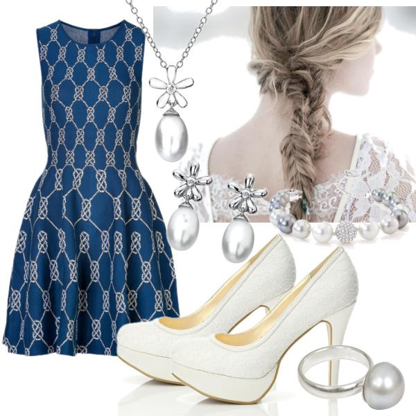 modrá perlička