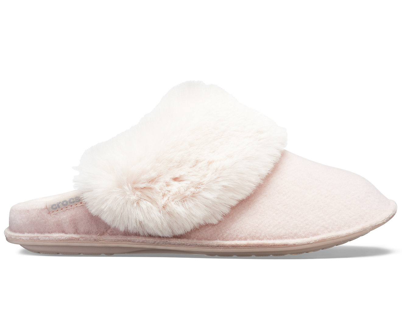 f3005e6b8b Crocs púdrové papuče na doma Classic Luxe Slipper Rose Dust - Glami.sk