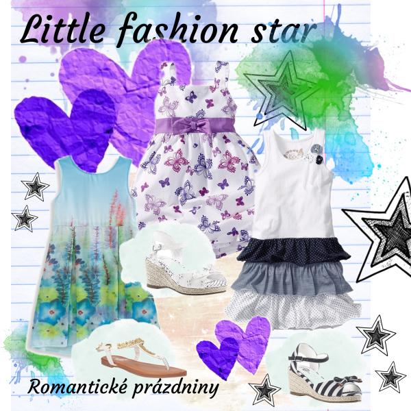 Dívčí šaty – Malá módní hvězda