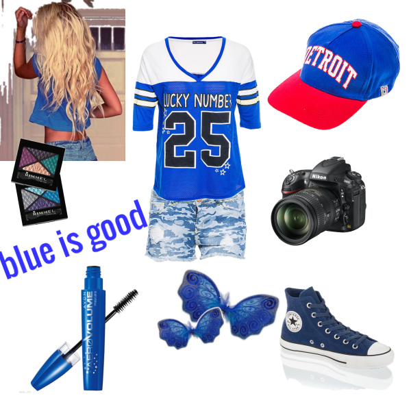 blue is good
