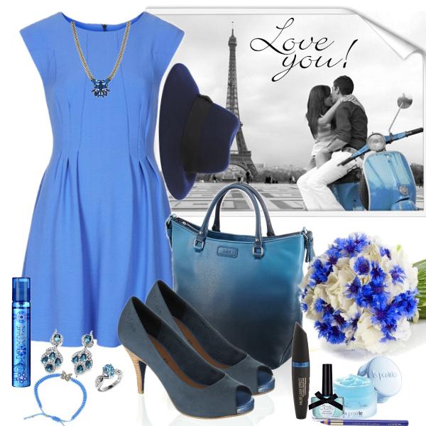 Blue love in Paris