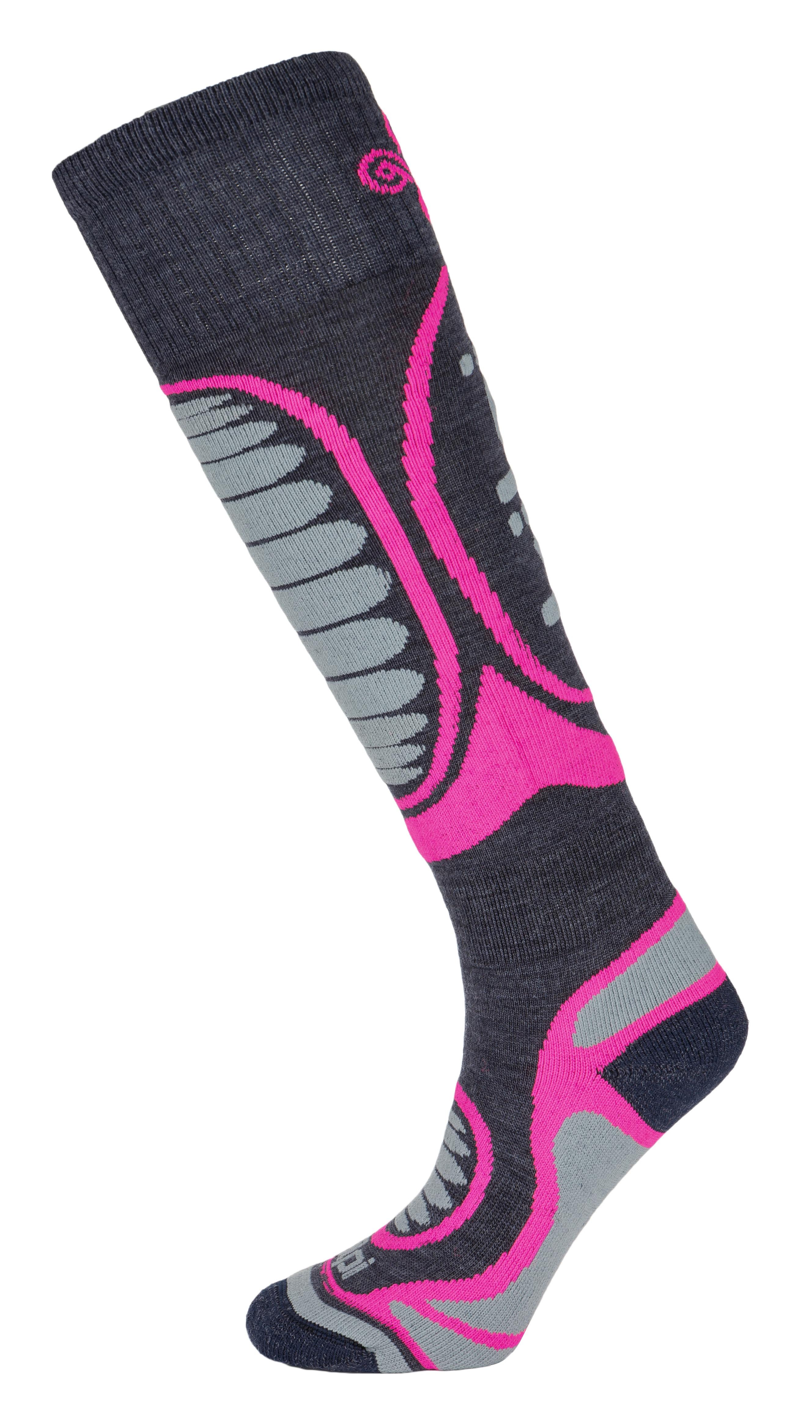 Lyžařské ponožky KILPI ANXO-U HU0126KI RŮŽOVÁ - Glami.cz 172c77eba1