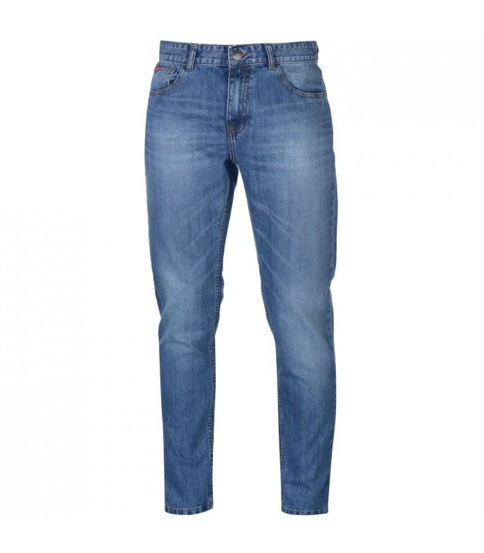 Lee Cooper Slim Leg Jeans Mens Light Stone - Glami.cz 6266399234