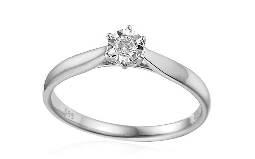 224b01d32 iZlato Forever Zásnubní prsten s diamantem Lawanda 3 white IZBR303AS ...