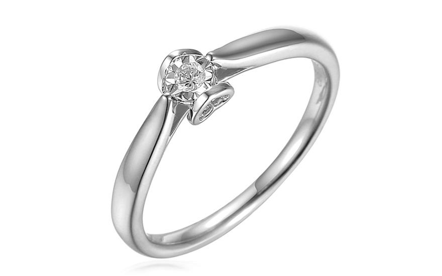 964b56f28 iZlato Forever Zásnubní prsten z bílého zlata s diamanty 0,060 ct Layra 2  IZBR517AM. 1