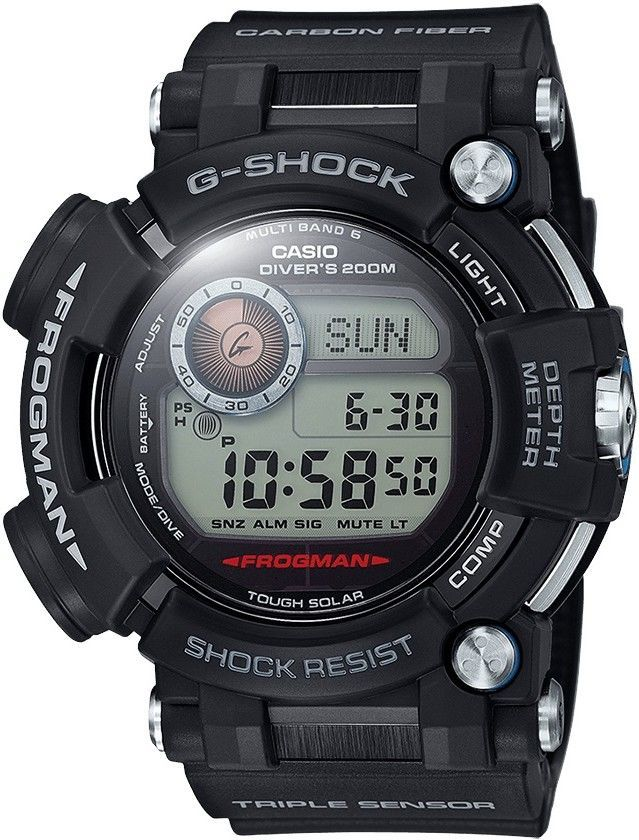 Casio G-Shock Frogman GWF D1000-1AER černé - Glami.cz 554e88cfaee