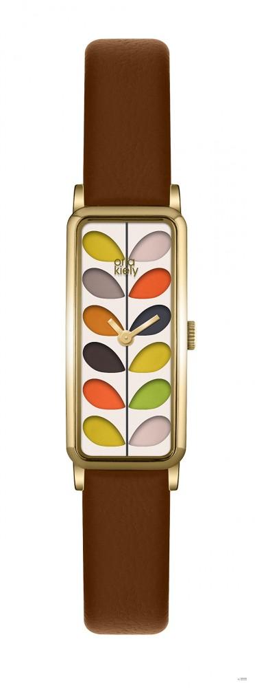 Orla Kiely Női dátumklasszikus óra bőr karkötő OK2104 - Glami.hu c8e7a1bf18