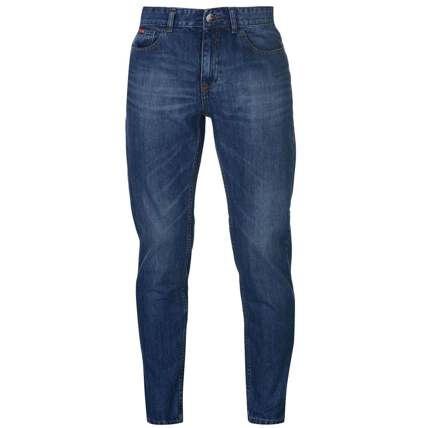 Džíny Lee Cooper Slim Leg Jeans Mens - Glami.cz 96c3e3722f