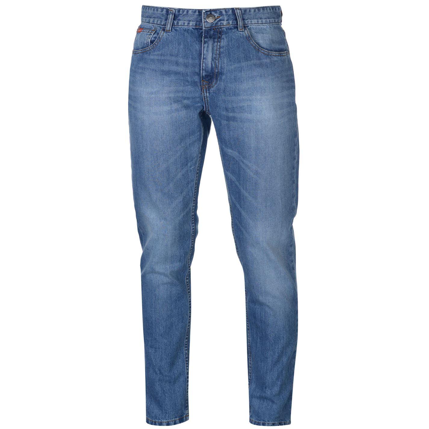 Lee Cooper Slim Leg Jeans pánské Light Stone - Glami.sk f99650922c