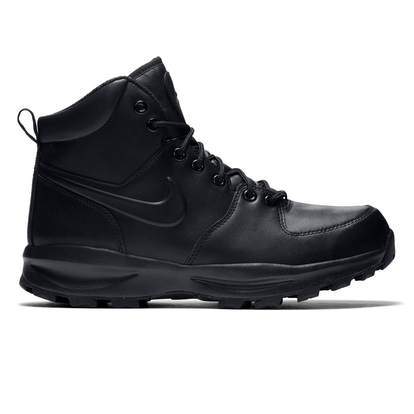 Nike Manoa Leather Men s Boots Black Blk Wht - Glami.sk 69bde952fc4