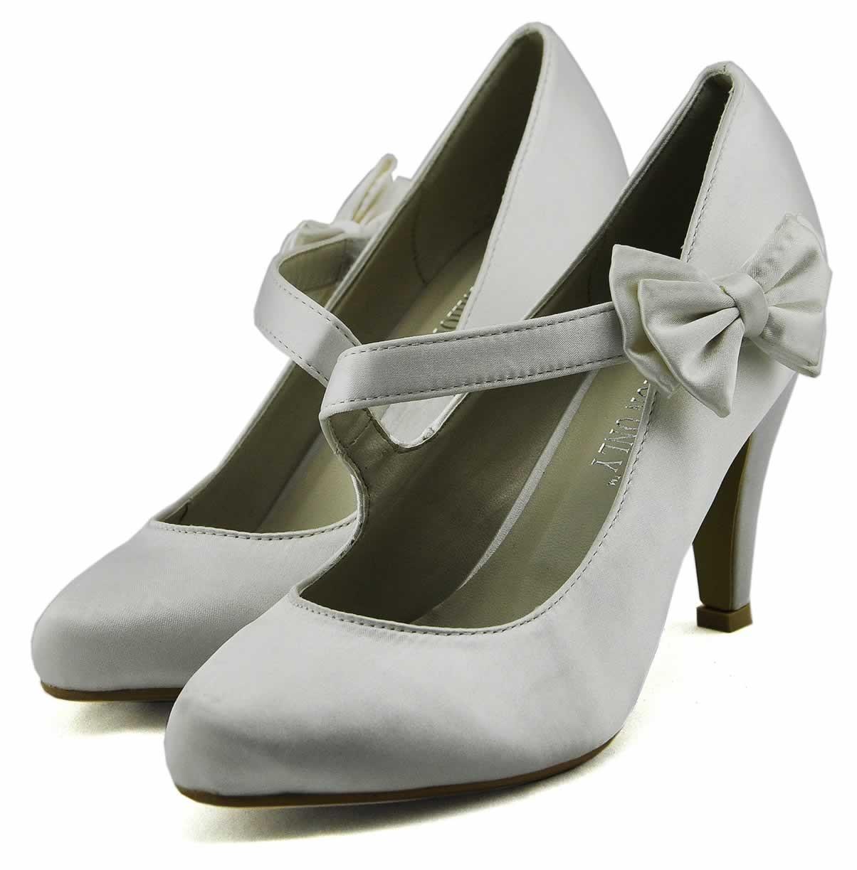 Bílé dámské elegantní lodičky Lieden c7a0f3572a