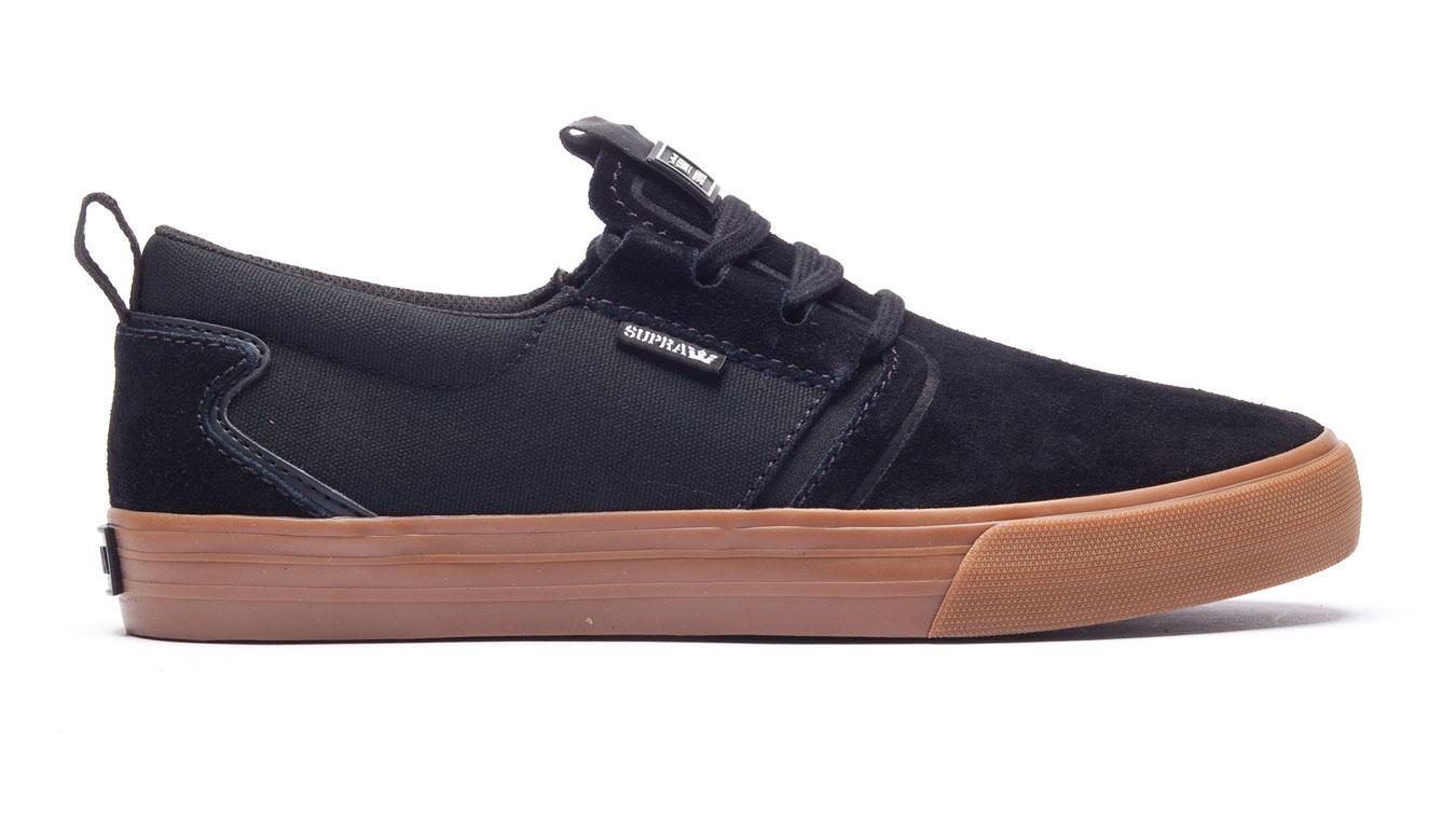 Supra Flow Black Gum hnedé 08325-055-M - Glami.sk 68527d5da77