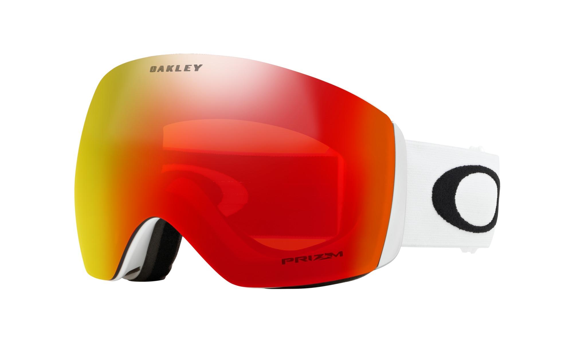 83e6944565 OAKLEY - okuliare L Flight Deck Matte White w Prizm Snow Torch ...