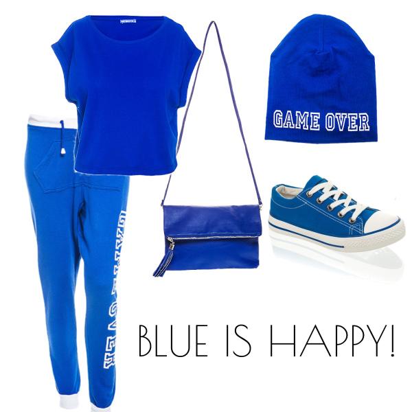 Blue is winner! ♥