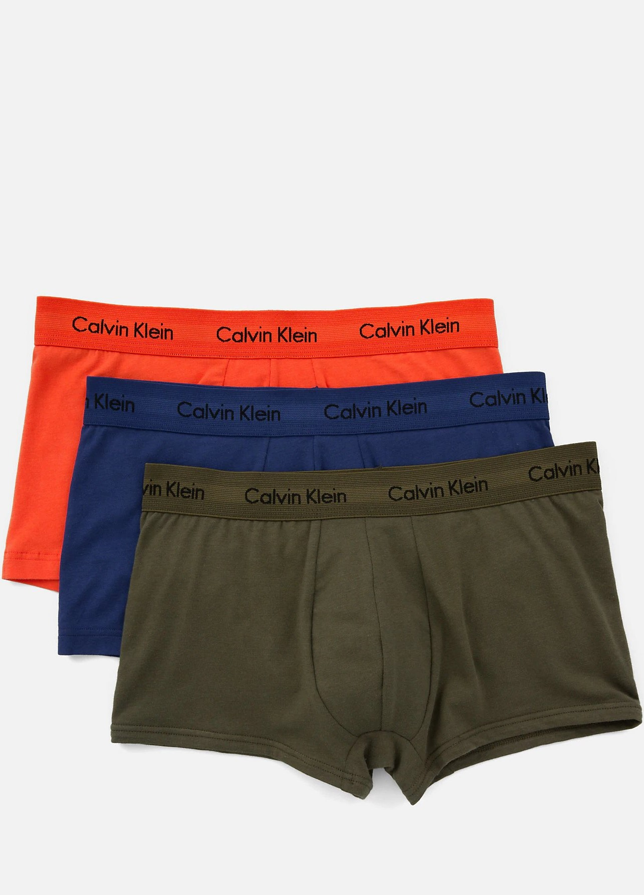 d3c2e2059 Calvin Klein 3 pack barevných pánských boxerek Cotton Stretch - XL ...