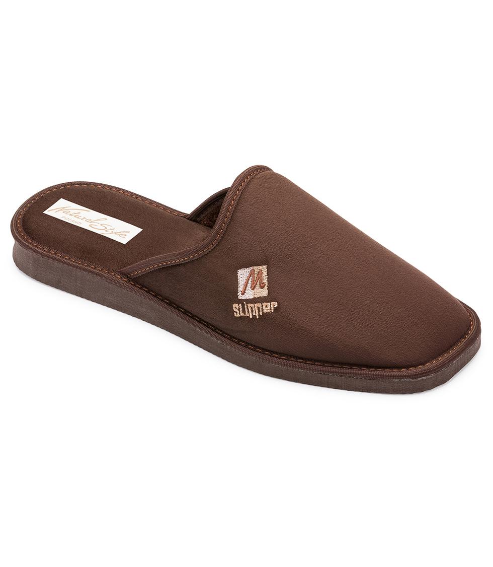 be6cafe2eb1a2 Pánske papuče Natural Style NS 023 Hneda 42 - Glami.sk