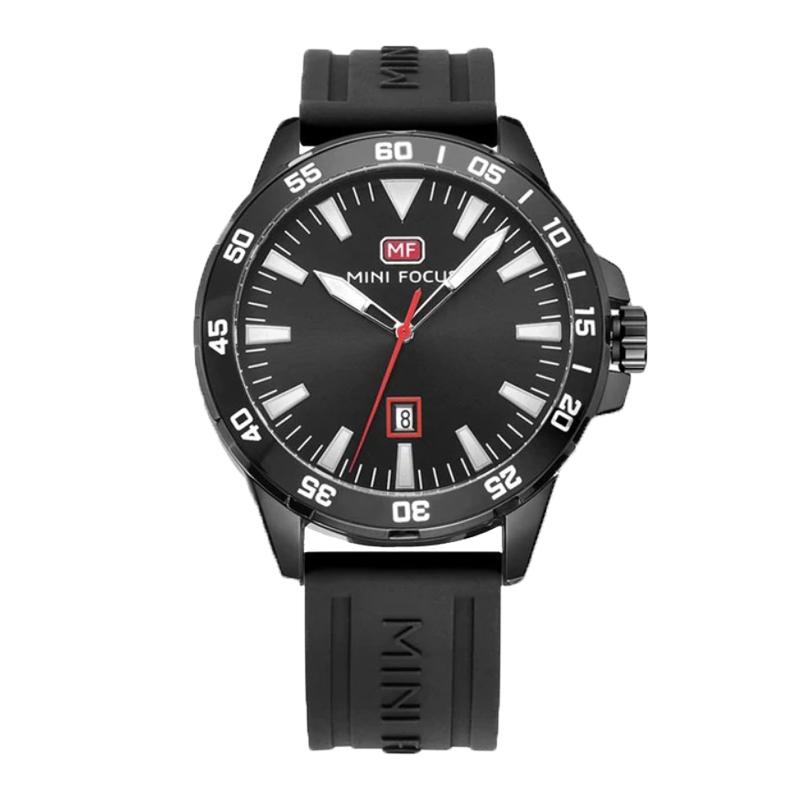 Mini Focus Pánske hodinky s velkým ciferníkom Borrow čierne - Glami.sk 43e53bf00da