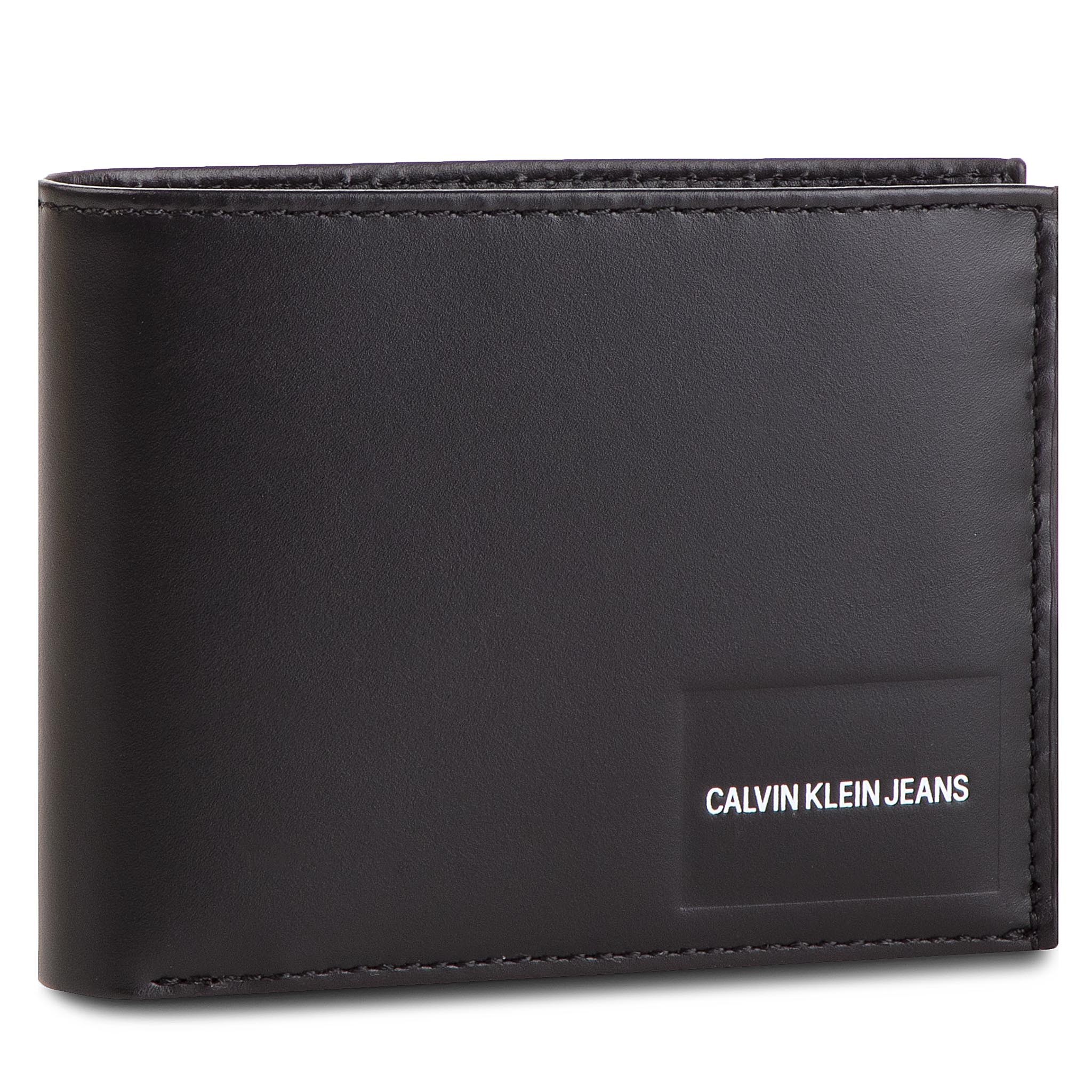 60790ae3a8 Nagy férfi pénztárca CALVIN KLEIN JEANS - Coated Canvas Bilfold Coin Pass  K40K400831 001