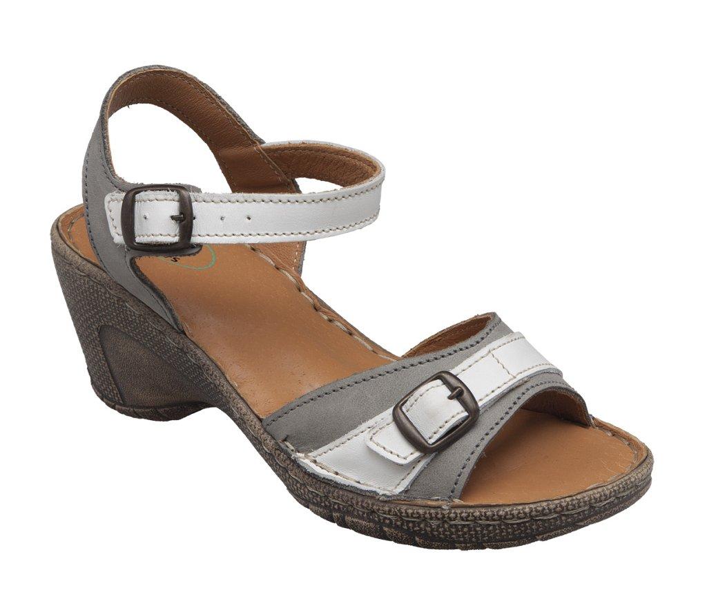 6ef3b0612b Santé N 309 7 13 10 Dámský sandál šedá - Glami.cz
