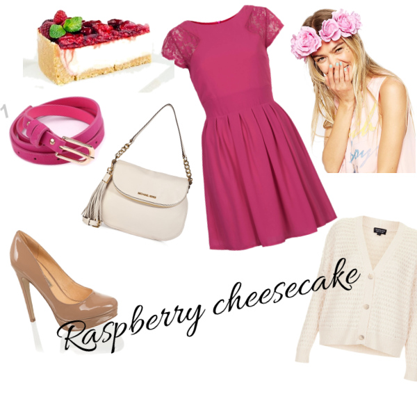 Raspeberry cheesecake