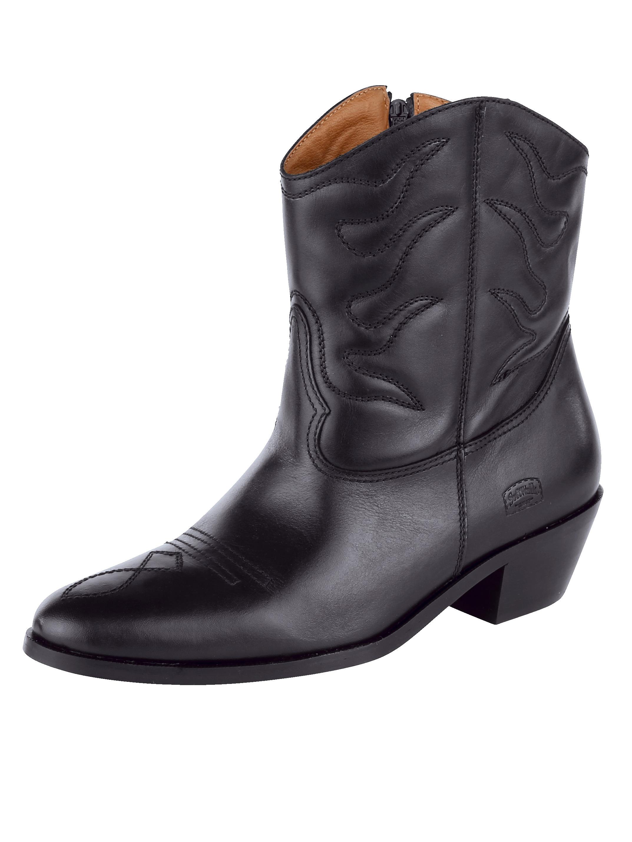 Westernové čižmičky Softwalk čierna - Glami.sk 8c261d81b75