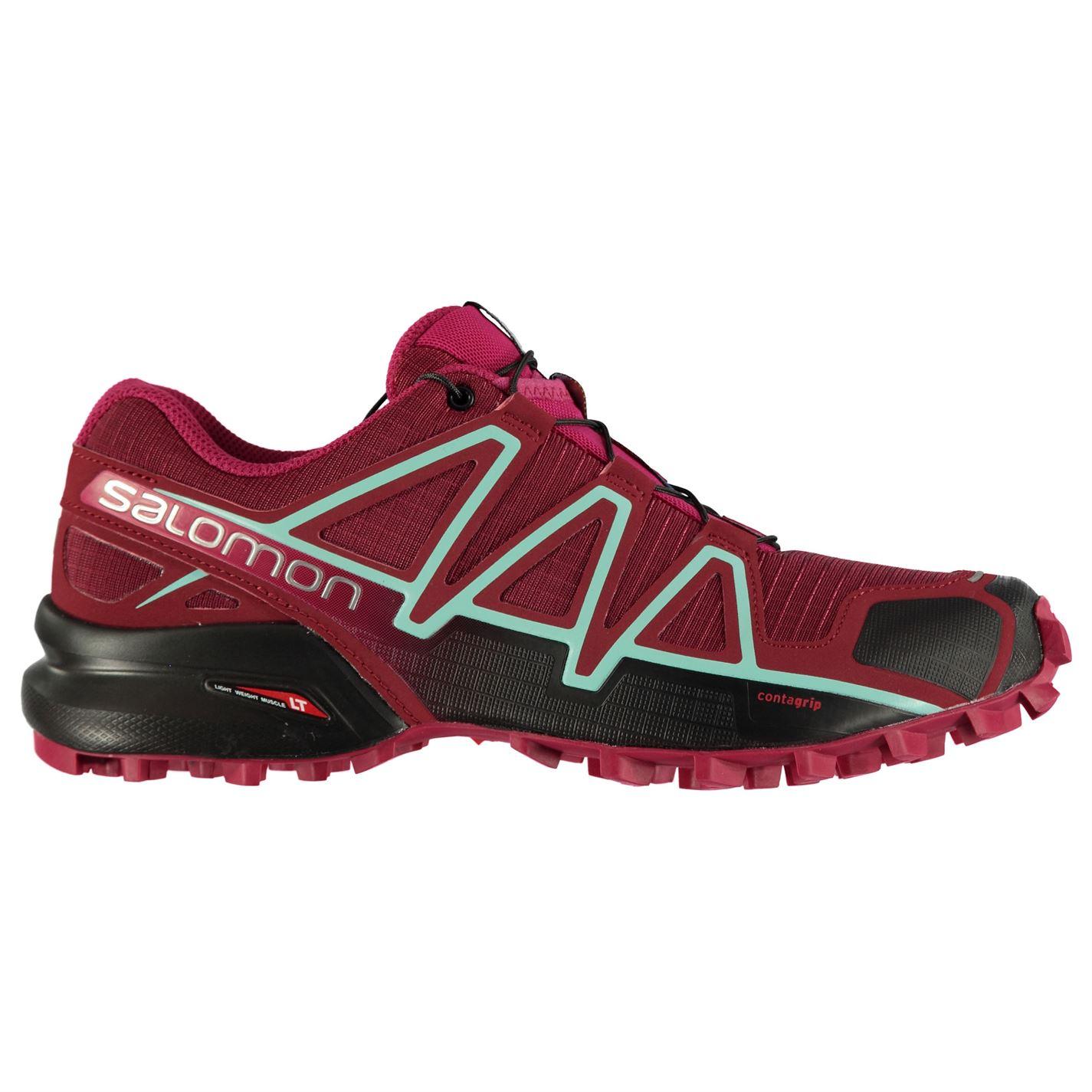 Salomon Speedcross 4 dámska bežecká obuv Red Pink Blk - Glami.sk f567a4688d3