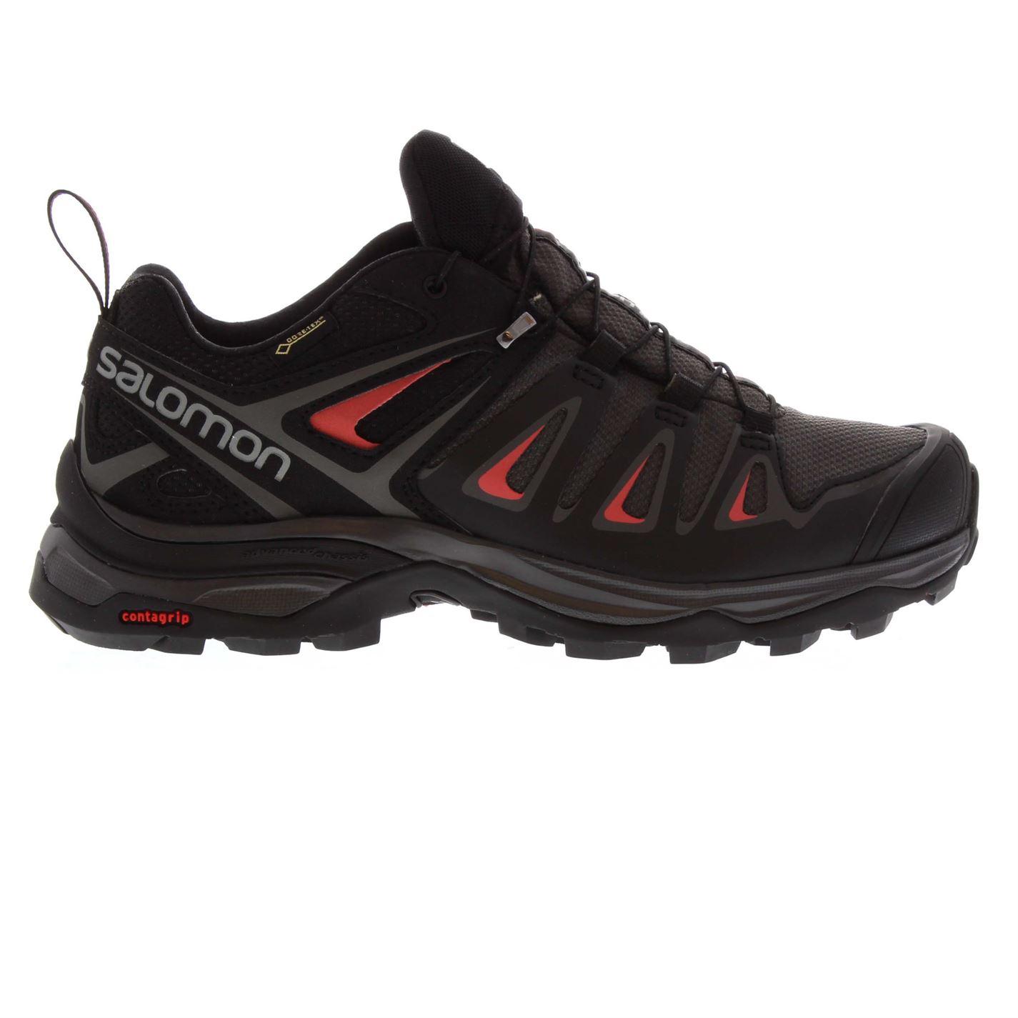 boty Salomon X Ultra 3 GTX dámské Walking Shoes Magnet Black - Glami.sk c8a033e305