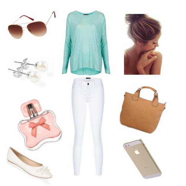 Lehký a pohodlný outfit :)