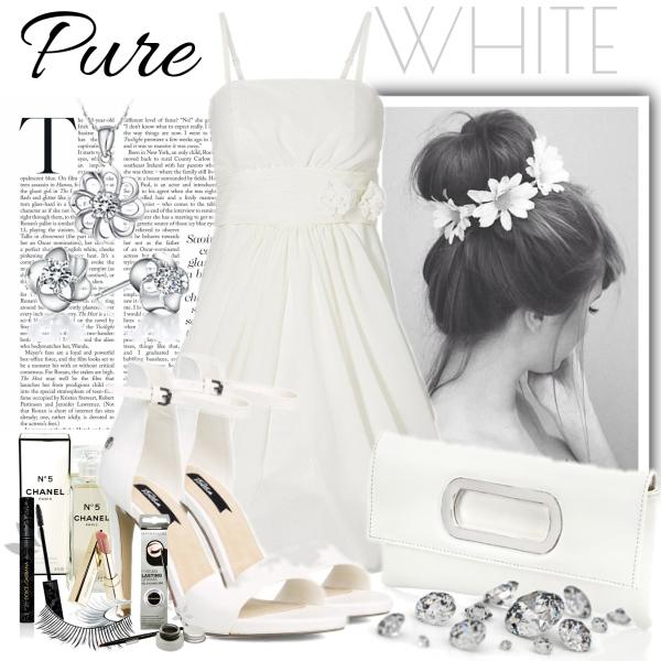 pure white!
