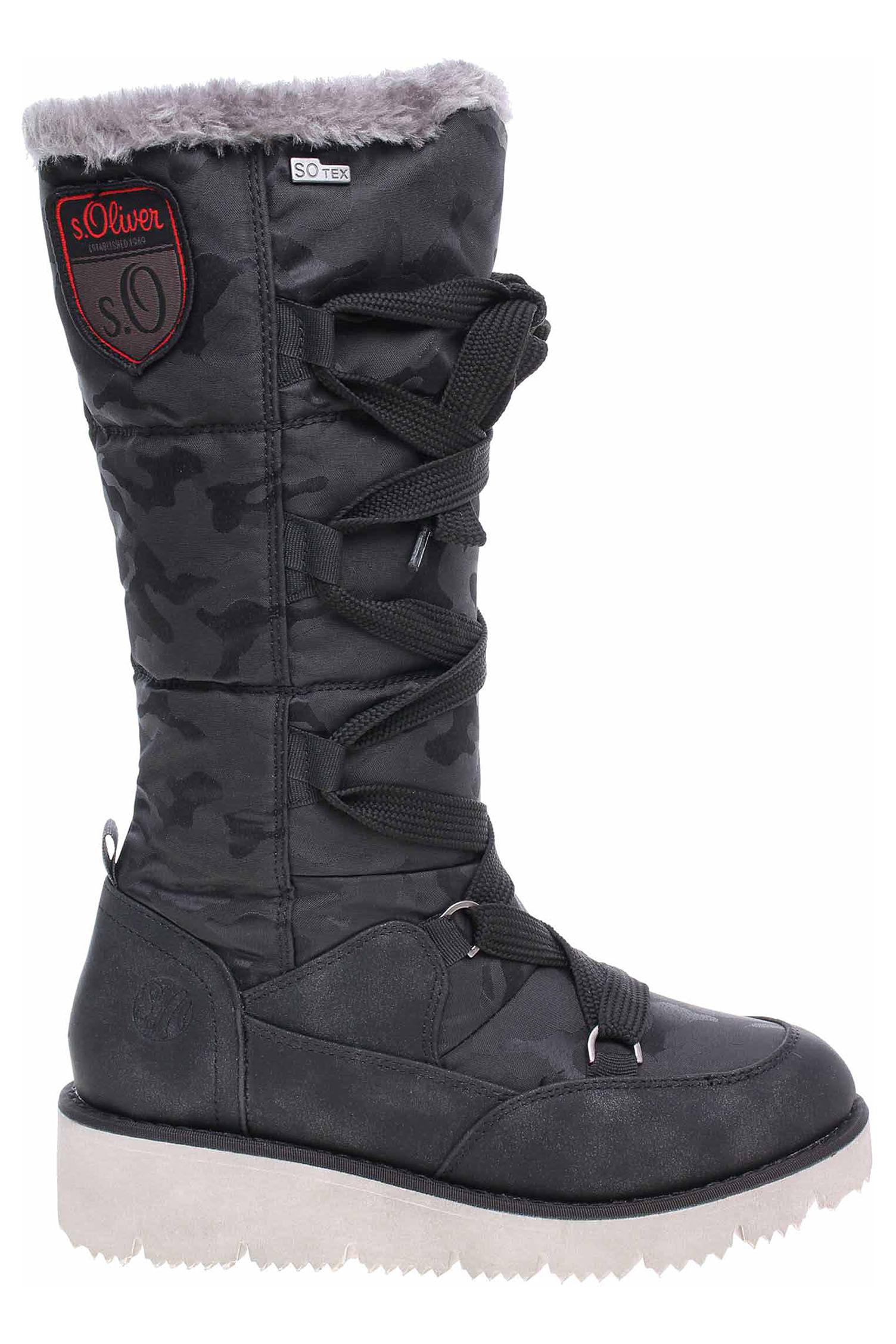 s.Oliver dámská obuv 5-26614-31 black 5-5-26614-31 001 - Glami.sk 2b849cb5372