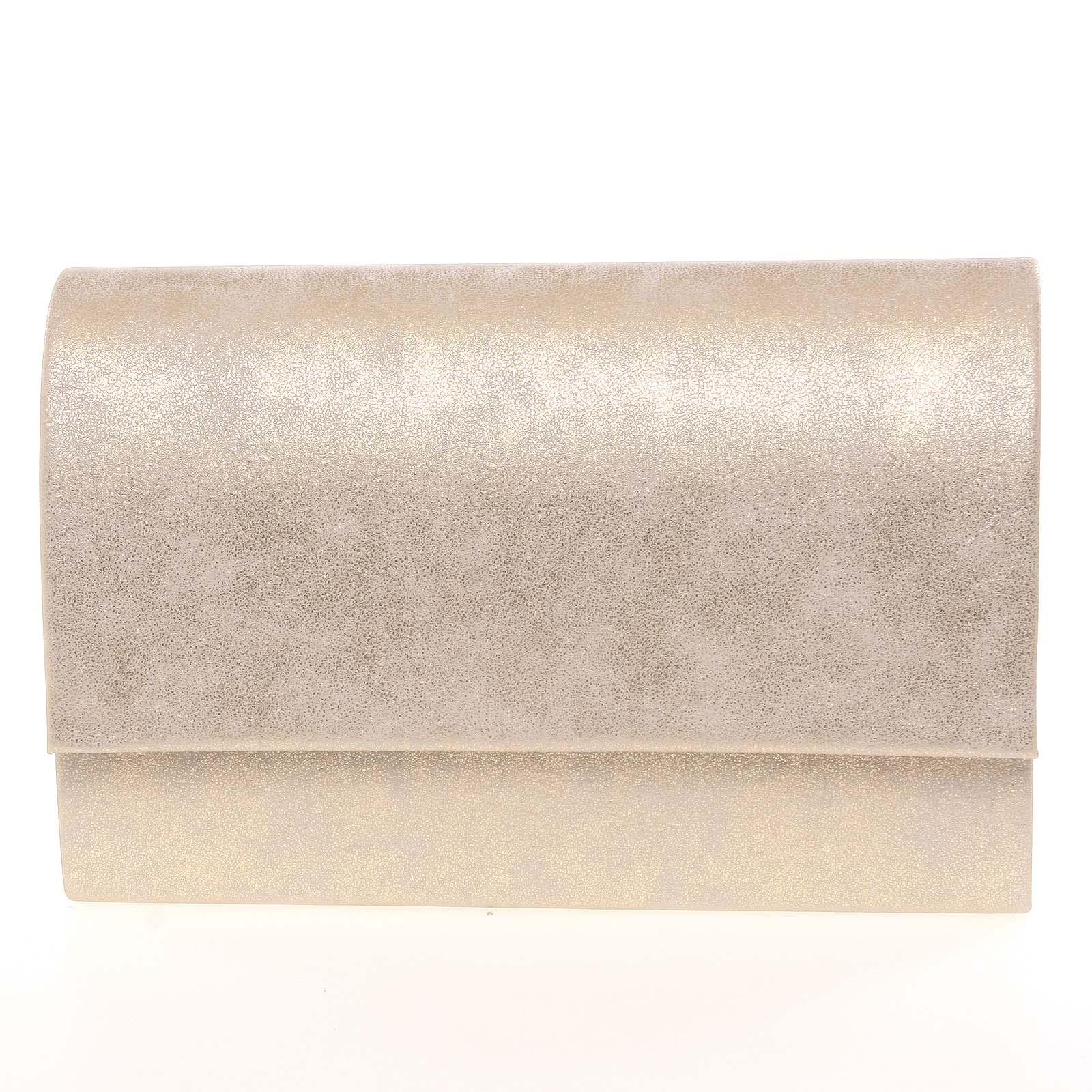 693b251c4 Štýlová dámska listová kabelka zlatá - Delami Boston zlatá - Glami.sk