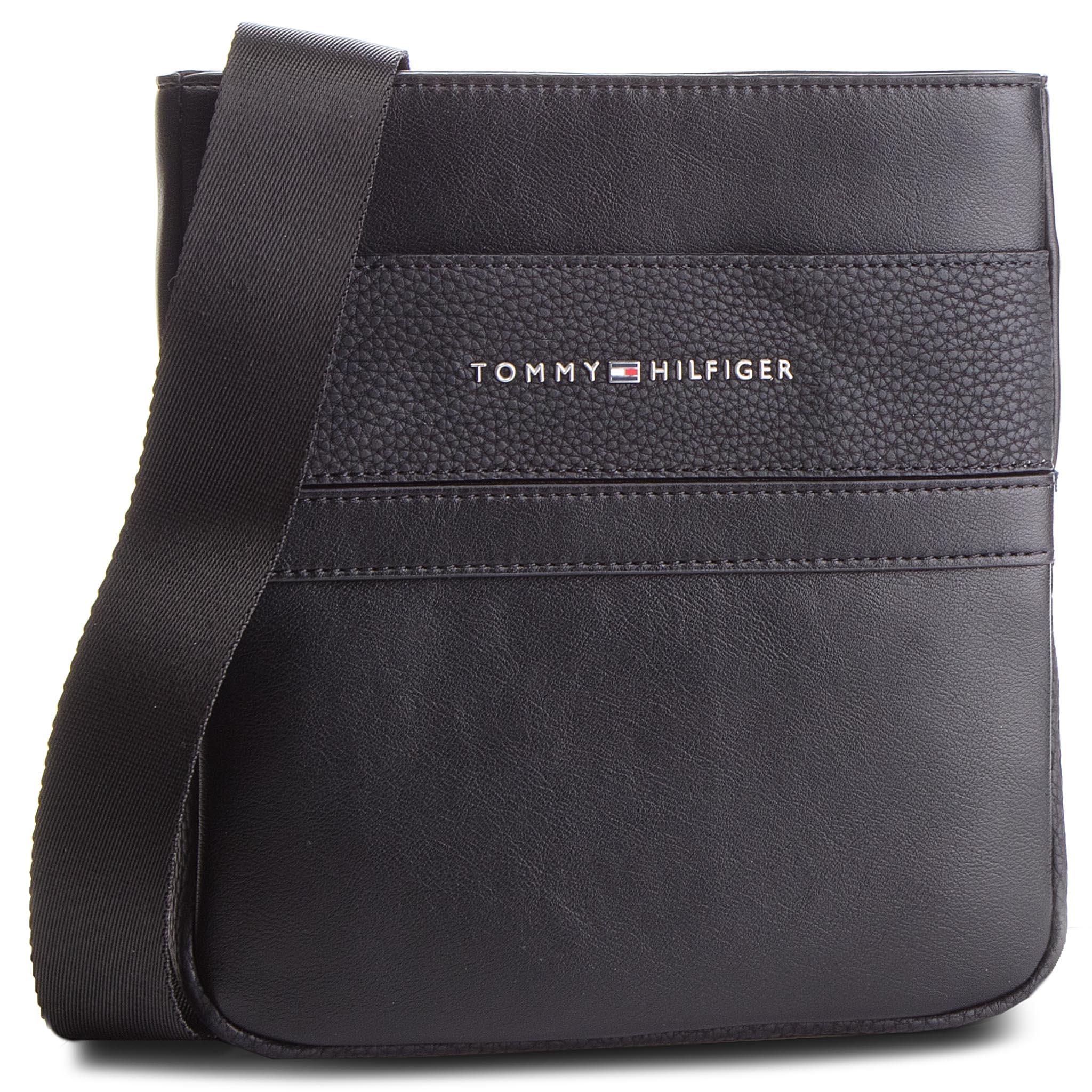 Válltáska TOMMY HILFIGER - Th Business Mini Crossover AM0AM04255 002 ... 04f6153020