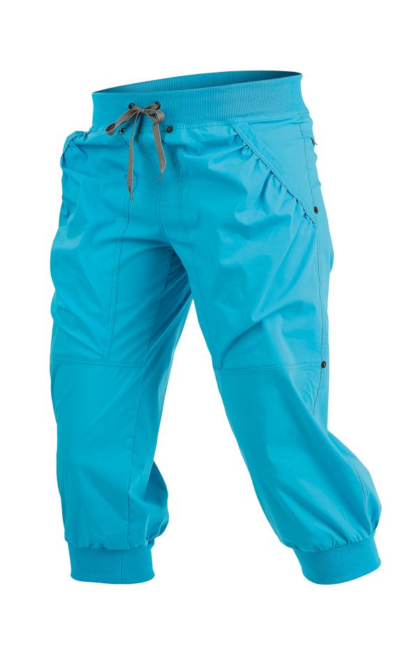 LITEX Kalhoty dámské v 3 4 délce. 99568504 tmavě tyrkysová S - Glami.cz b955d6e41c