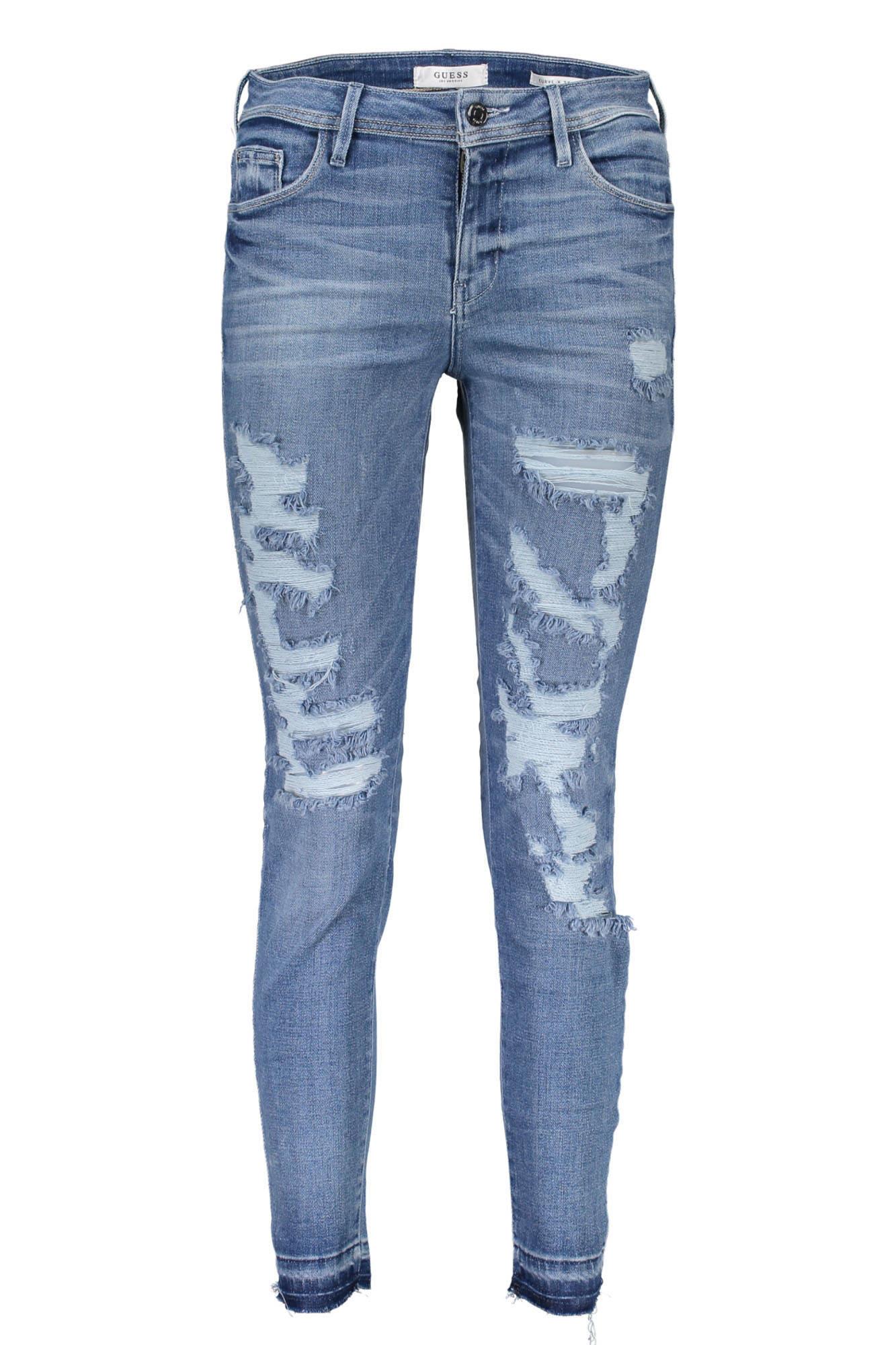 Guess Jeans Džíny Dámské - 26   Modrá - Glami.cz 3322292e23