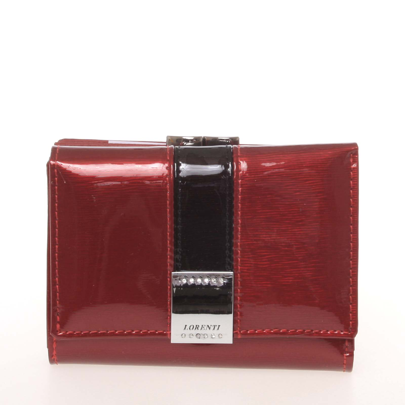 Moderná lakovaná červená dámska peňaženka - Lorenti 1509SH červená ... 6ceddbd37cc