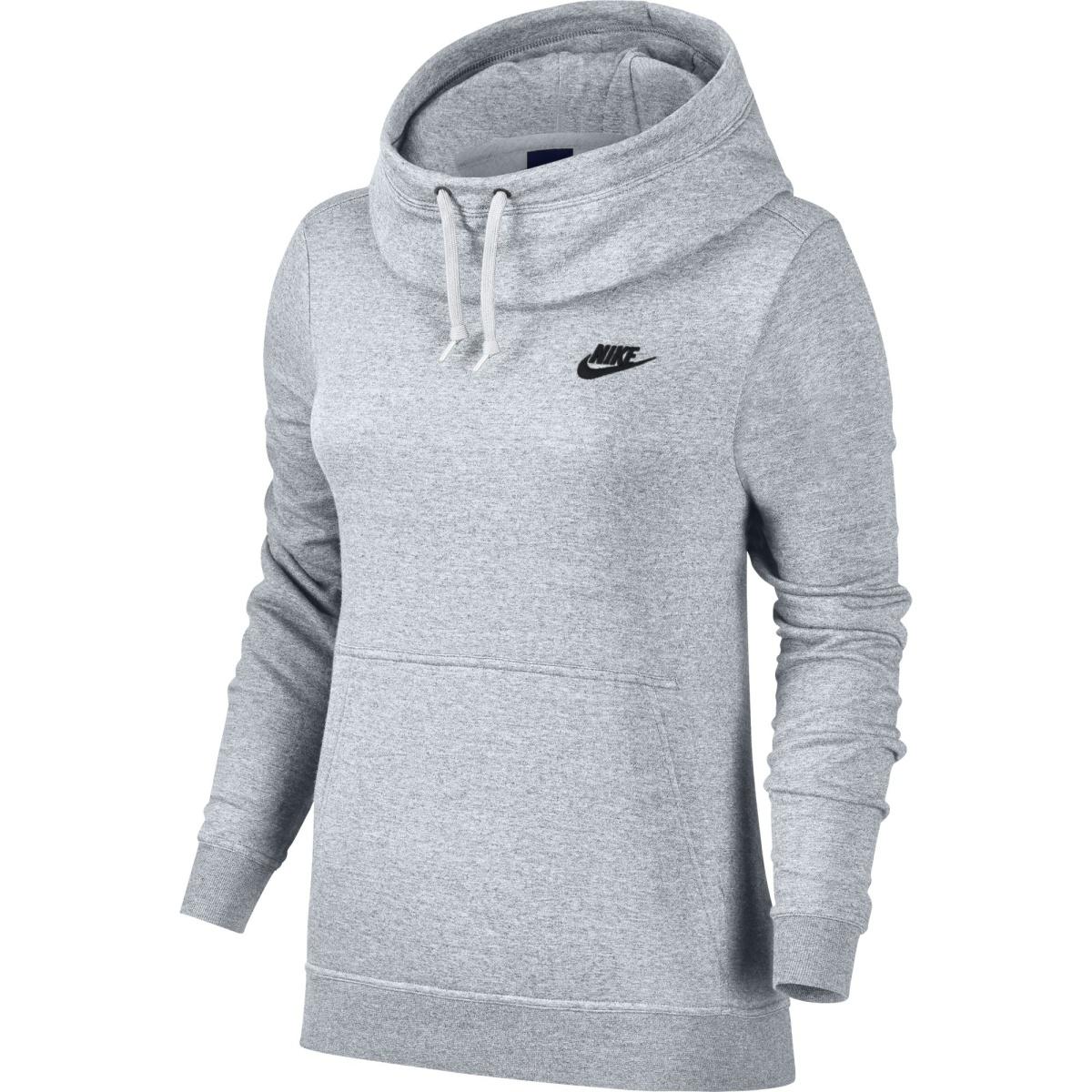 beb2743e11b8 Nike W Nsw Fnl Flc šedá L - Glami.cz