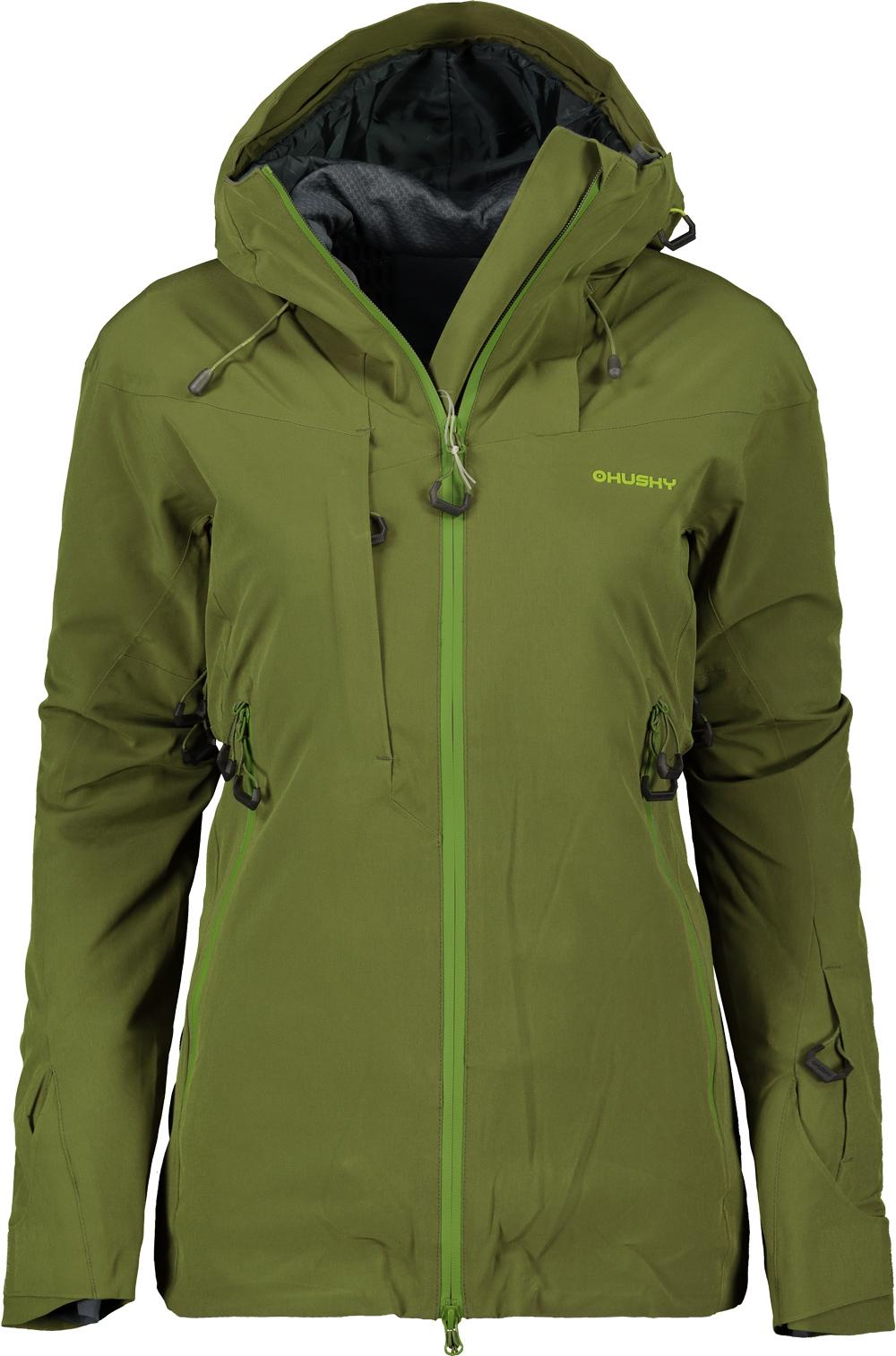 Bunda hardshellová dámska HUSKY ski GOMBI L dark olive - Glami.sk 9f246886a73