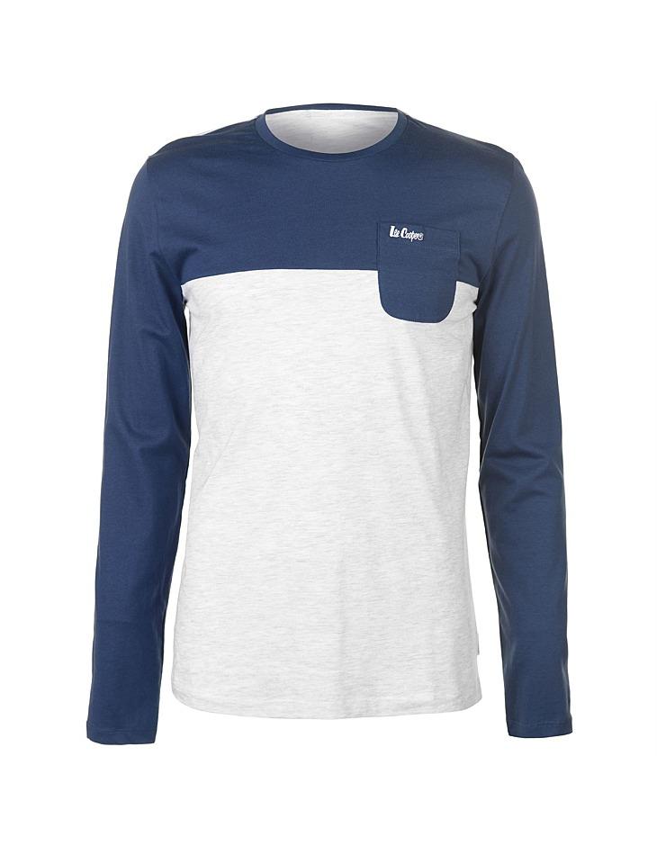 b0161b502786 Pánske voĺnočasové tričko s dlhým rukávom Lee Cooper - Glami.sk
