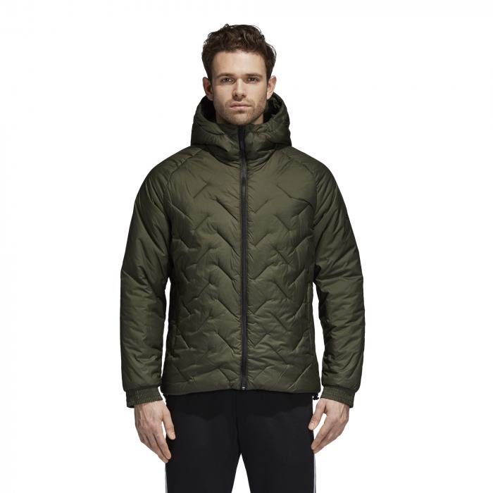 Pánska bunda zimná adidas Performance BTS JACKET (Zelená). Pánska bunda  zimná adidas Performance BTS JACKET (Zelená) a16b234ef7a