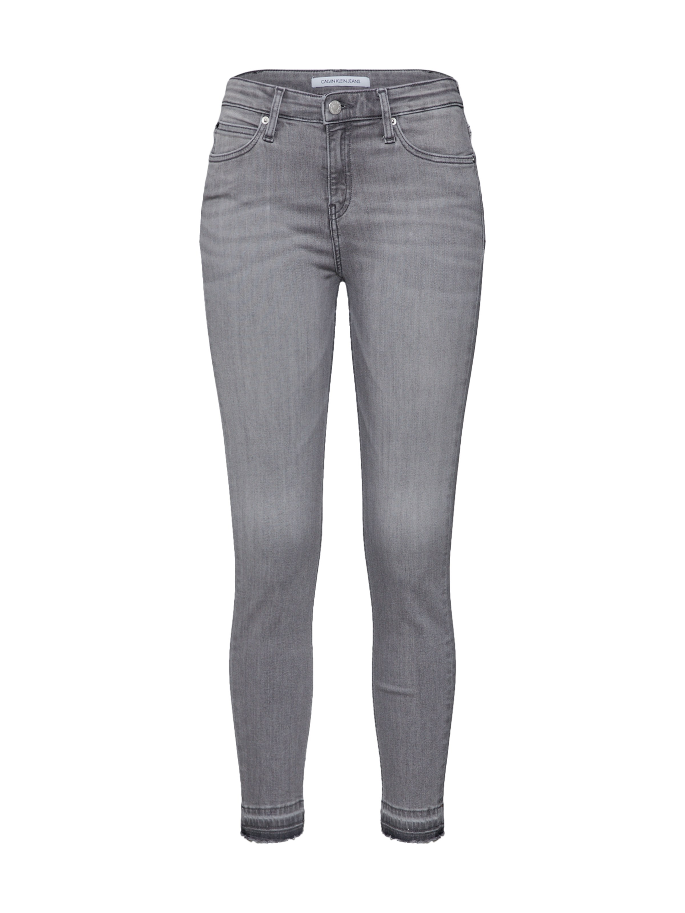 35fad887eaf4 Calvin Klein Jeans Džíny  CKJ 011 MID RISE SKINNY  šedá džínová ...